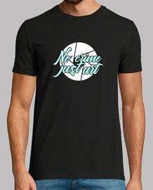 No Crime Just Art-Camiseta hombre manga corta