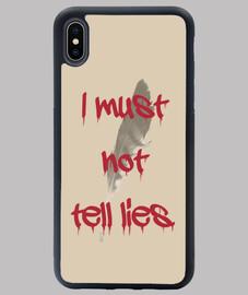 No debo decir mentiras...