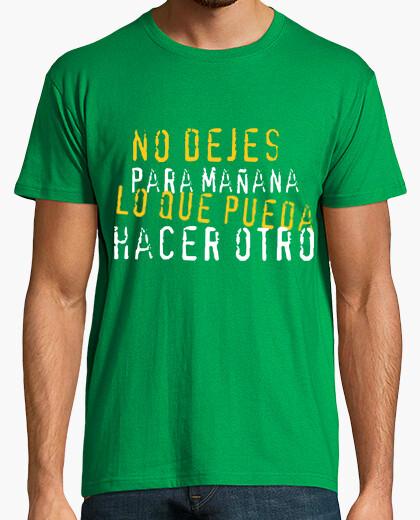 Camiseta NO DEJES PARA MAÑANA