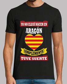 No elegí Aragón, tuve suerte