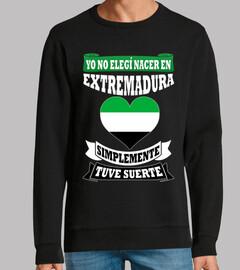 No elegí Extremadura, tuve suerte