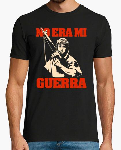 Camiseta No era mi guerra (Rambo)