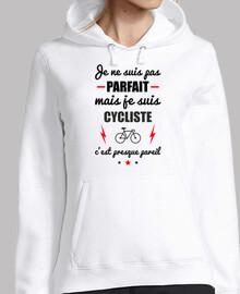 no es perfecto, pero ciclista