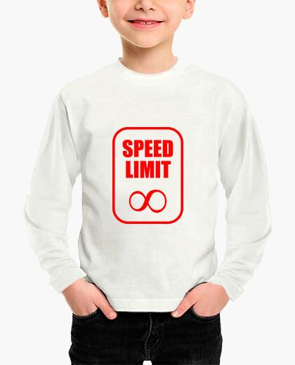 Ropa infantil No hay límite de velocidad / moto / pil