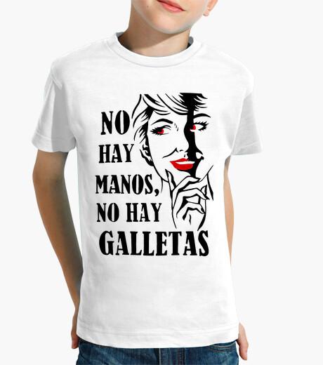 Ropa infantil No hay manos, no hay galletas - MorganaA