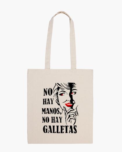 Bolsa No hay manos, no hay galletas - MorganaA