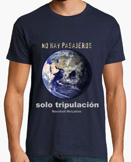 Camiseta No hay pasajeros - sólo tripulación