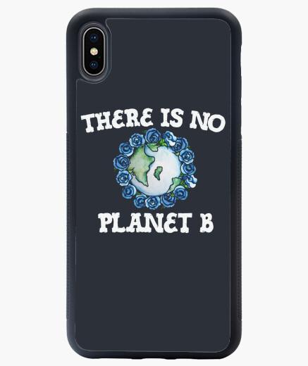 Funda iPhone XS Max no hay planeta b arte del día de la tie