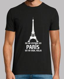 No he estado en París en mi vida, Hulio