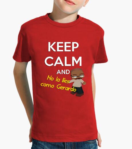 Ropa infantil No la líes como Gerardo | Camiseta para niños