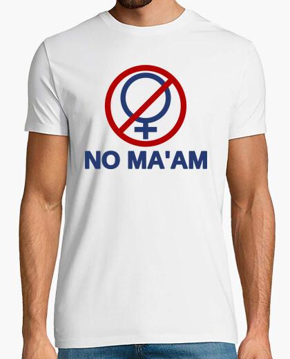 Camiseta NO MA'AM - Al Bundy (Matrimonio con Hijos)