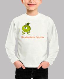 No manzanas. Gracias. (manga larga)