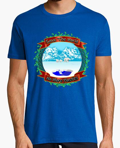 Camiseta No Mas Plasticos Hombre