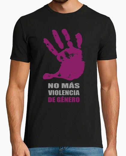 Camiseta No más violencia de Género chico