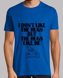 no me gusta los abrazos