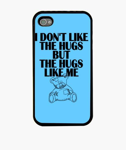 Funda iPhone no me gusta los abrazos - cubierta