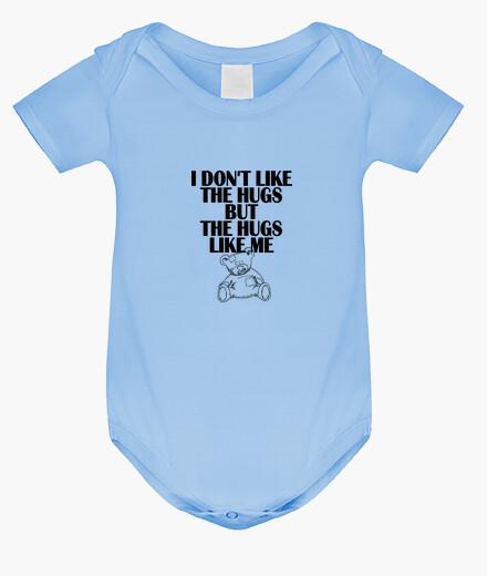 Ropa infantil no me gusta los abrazos - cubierta