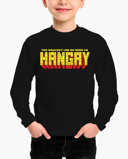 Ropa infantil no me gustarías cuando yo fuera hangry
