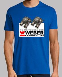 No me toques los Weber