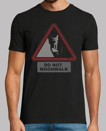 no moonwalk! (negro)