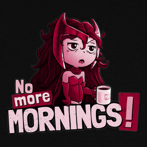 Camisetas No More Mornings