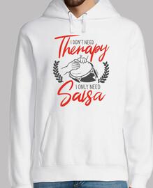 No necesito terapia. Necesito Salsa