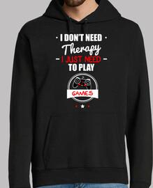 no necesito terapia solo necesito jugar
