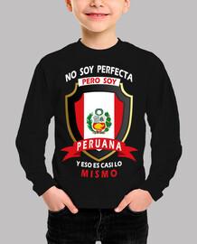 No perfecta, soy Peruana Niña