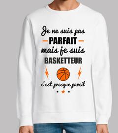 no perfecto baloncesto jugador de balon
