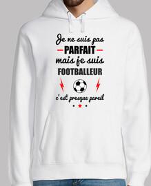 no perfecto pero futbolista