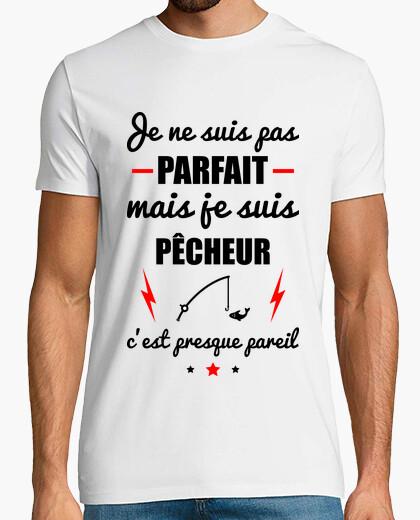Camiseta no perfecto pero pescador