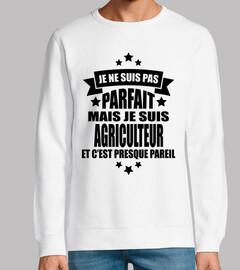 no perfecto pero soy un granjero