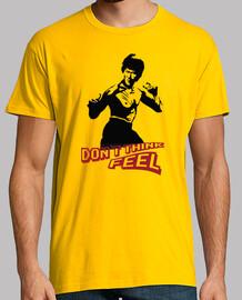 No pienses, siente: Bruce Lee