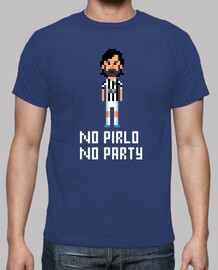 No Pirlo No Party 8 Bits (Camiseta)