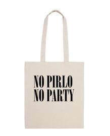 No Pirlo No Party (Bolsa)