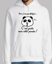 no por la mañana solo panda