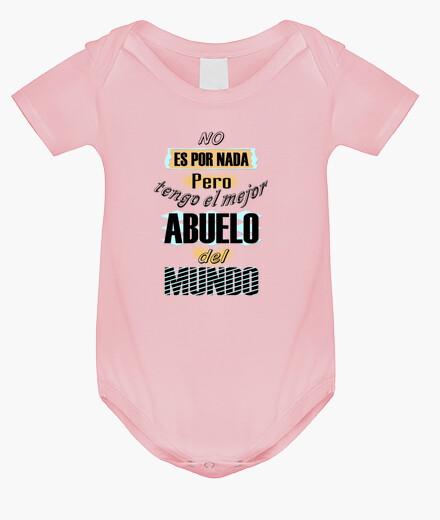 Ropa infantil No por nada tengo mejor Abuelo Mundo bebe
