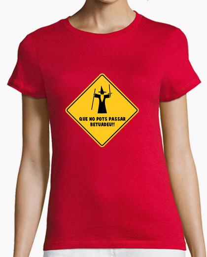 Camiseta No pots passar (Dona)