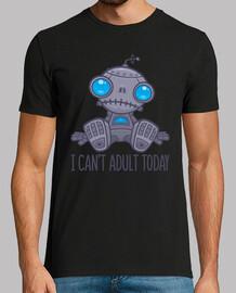 no puedo adulto hoy robot triste