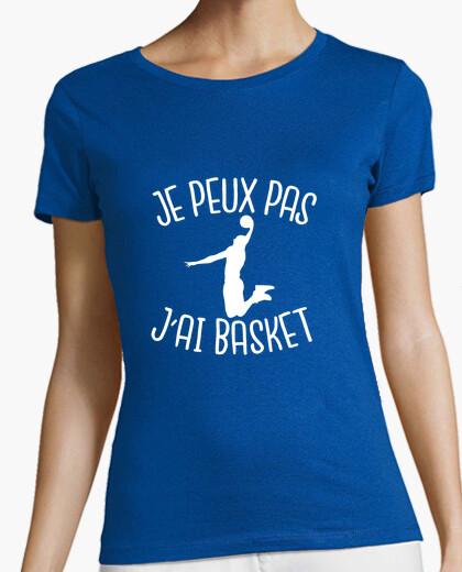 Camiseta no puedo, baloncesto