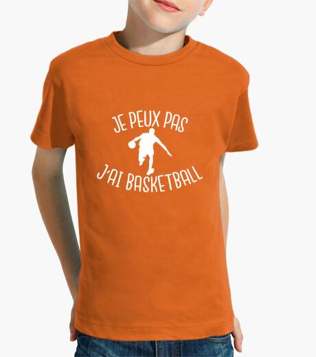 Ropa infantil no puedo, baloncesto