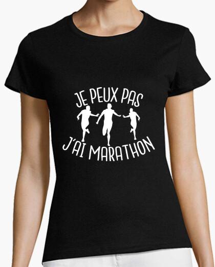 Camiseta no puedo, maratón