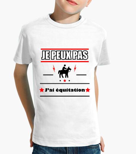 Ropa infantil no puedo montar caballo