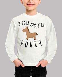 no puedo pony