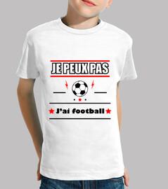 No puedo tener fútbol fútbol