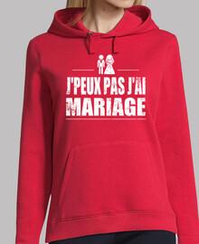 No puedo tener matrimonio
