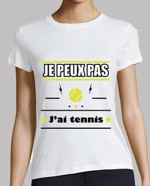 No puedo tener tenis