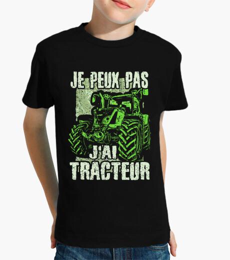 Ropa infantil No puedo tener tractor