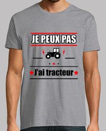 No puedo tener tractor