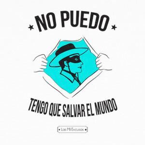 T-shirt Non posso devo che salvare il mondo